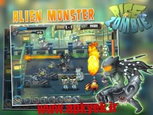 دانلود بازی ظهور زامبی Rise of Zombie v1.0.1 اندروید