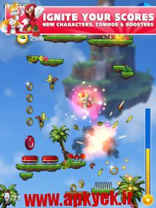دانلود بازی پرش Sonic Jump Fever v1.5.2 اندروید مود شده