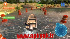 دانلود بازی پارک آبی Speed Boat Parking 3D 2015 v1.0 اندروید