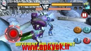 دانلود بازی جنگ در خیابان Steel Street Fighter Club Pro v1.4 اندروید