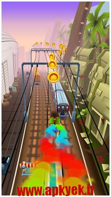 دانلود بازی دوندگی در مترو Subway Surfers v1.51.1 اندروید مود شده