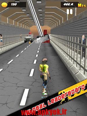 دانلود بازی اسکیت در ترافیک Traffic Skate 3D v1.0.6 اندروید
