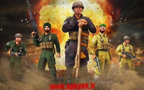 دانلود بازی جنگ هند و پاکستان ۱۹۶۵ WAR :Indo-Pak Clash Alert 1.0.11 اندروید