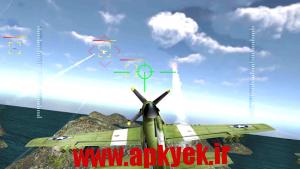 دانلود بازی جنگنده هوایی WW2 Pacific Fighter Attack 3D v1.0 اندروید