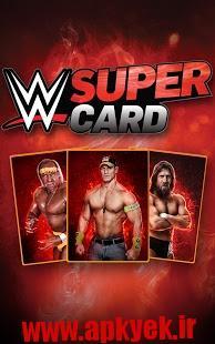 دانلود بازی کشتی کج کارتی WWE SuperCard 1.10.0.132537 اندروید