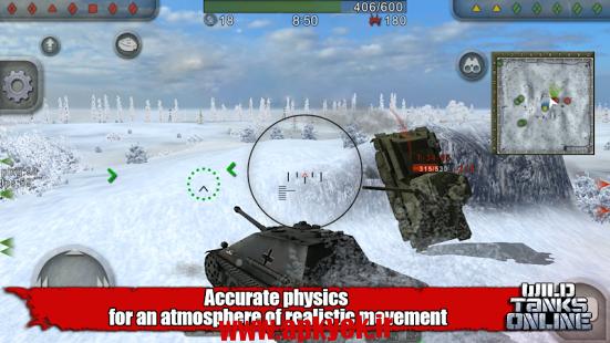 دانلود بازی آنلاین Wild Tanks Online 1.39 اندروید