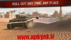دانلود بازی حمله رعد آسا World of Tanks Blitz v1.9.0.125 اندروید