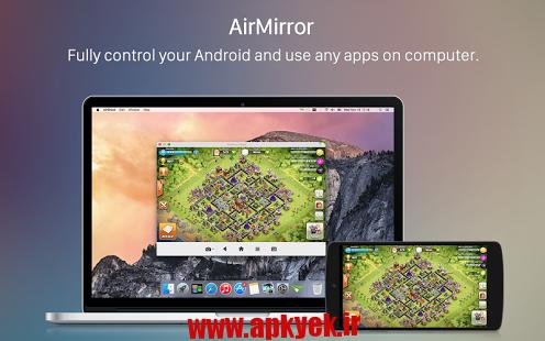 دانلود نرمافزار مدیریت گوشی و کامپیوتر AirDroid 3.1.3 اندروید