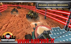دانلود بازی ماشین های بیگانه Alien Cars 3D Future Racing v1.0 اندروید