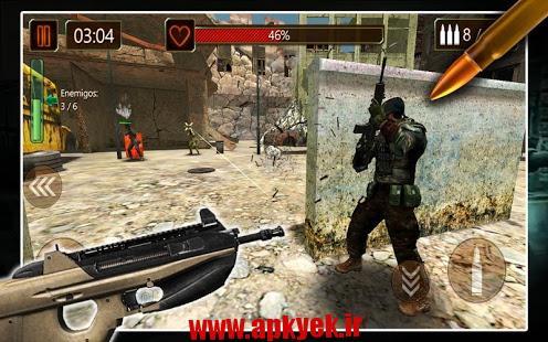 دانلود بازی اکشن و تیر اندازی Battlefield WW2 Combat vBFW.1.1 اندروید