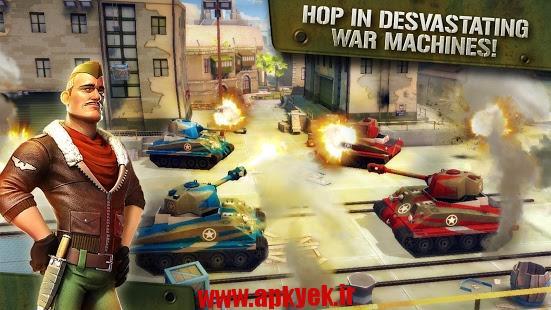 دانلود بازی حمله رعد آسا Blitz Brigade – Online FPS fun v1.8.2b اندروید