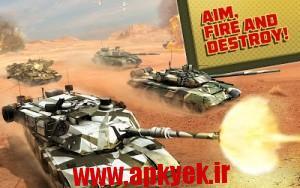 دانلود بازی بمباران تانک Boom! Tanks v1.0.39 اندروید مود شده