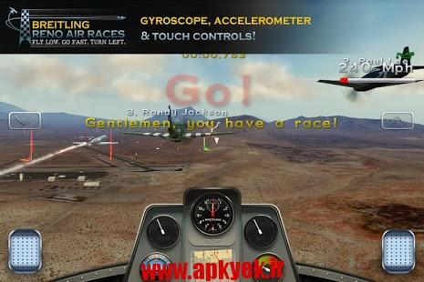 دانلود بازی مسابقات هوایی Breitling: Reno Air Races v1.2.2 اندروید