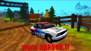 دانلود بازی رالی کارتونی Cartoon Rally v1.0 اندروید