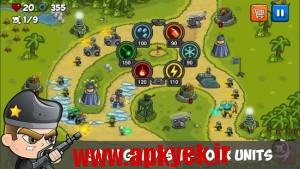 دانلود بازی مبارزه ای Combat Tower Defense v1.0 اندروید مود شده