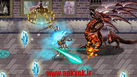 دانلود بازی مرگ اژدها Death Dragon Knights RPG v1.5 اندروید مود شده