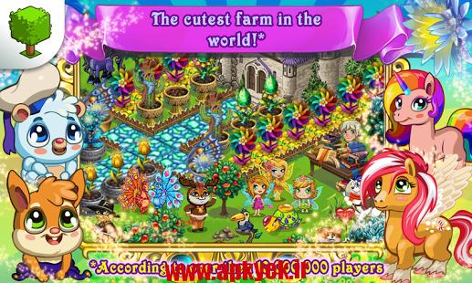 دانلود بازی پری مزرعه Fairy Farm 2.7.3 اندروید مود شده