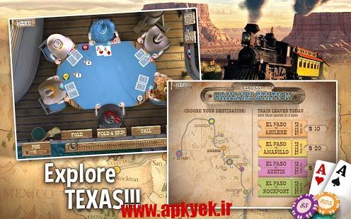 دانلود بازی پوکر فرمانده Governor of Poker 2 Premium 2.0.16 اندروید
