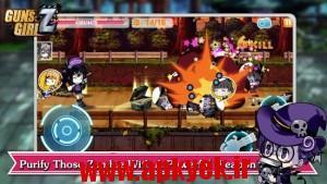 دانلود بازی دختران مبارزه Guns Girl – School DayZ v1.8.22 اندروید