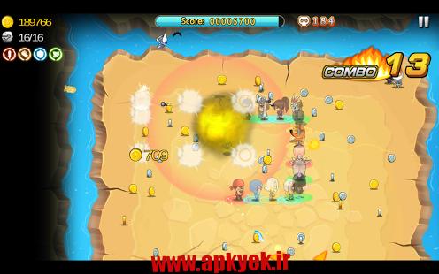 دانلود بازی رفتن برای قهرمانی Hero Go 1.3 اندروید