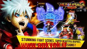 دانلود بازی قهرمان حماسی Heroes Saga-EN-Global v1.0.0 اندروید