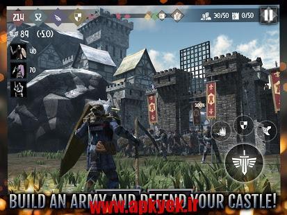 دانلود بازی قهرمان قلعه ها Heroes and Castles 2 v1.00.03 اندروید مود شده برای تمامی پردازنده ها