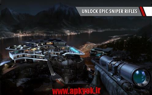 دانلود بازی تیر اندازی هیتمن Hitman: Sniper v1.2.43823 اندروید