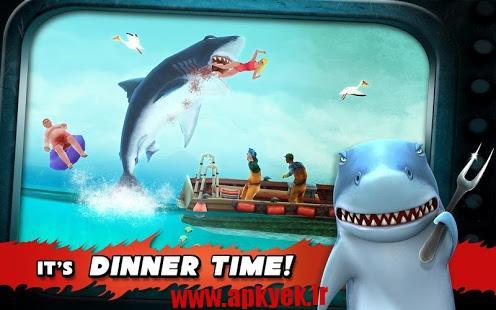 دانلود بازی کوسه گرسنه Hungry Shark Evolution 3.6.0 اندروید