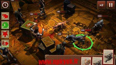 دانلود بازی جنگ در مترو Metro 2033 Wars v1.57 اندروید