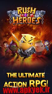 دانلود بازی عجله برای قهرمانی Rush of Heroes v1.0.0.0 اندروید