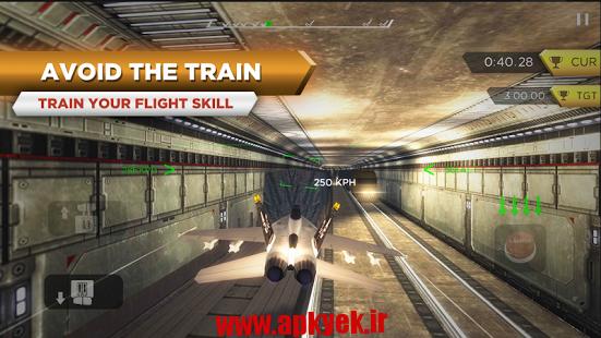 دانلود بازی ماموریت هواپیما SIM EXTREME FLIGHT 2.2 اندروید مود شده