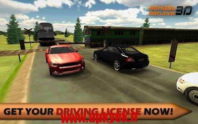 دانلود بازی آموزش رانندگی سه بعدی School Driving 3D v1.9.3 اندروید مود شده