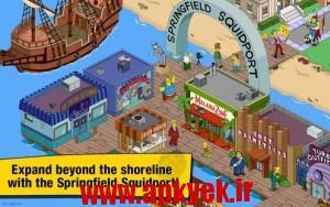 دانلود بازی سیمپسونها The Simpsons™: Tapped Out v4.15.0 اندروید مود شده