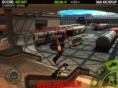 دانلود بازی اسکیت بورد Skateboard Party 2 v1.11 اندروید مود شده