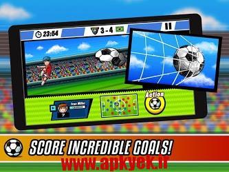 دانلود بازی فوتبال قهرمان برزیل Soccer Heroes – Road to Brazil 1.2.1 اندروید