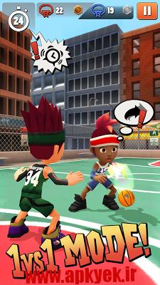 دانلود بازی بسکتبال Swipe Basketball 2 v1.1.4 اندروید