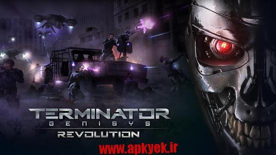 دانلود بازی انقلاب Terminator Genisys: Revolution v1.0.2 اندروید