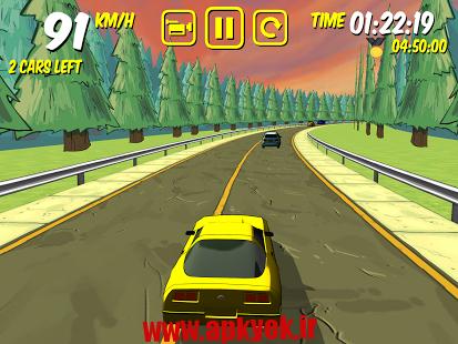 دانلود بازی رانندگی خطرناک The Drive – Devil's Run v1.0.2 اندروید