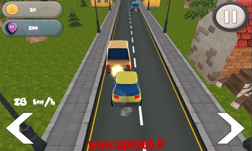 دانلود بازی مسابقه در ترافیک Traffic super racer v1.0 اندروید