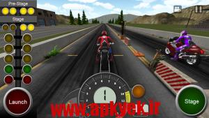 دانلود بازی مسابقه موتور سواری Twisted: Dragbike Racing v1.02 اندروید
