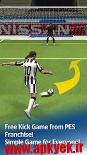 دانلود بازی ضربه آزاد UEFA CL PES FLiCK v1.0.1 اندروید