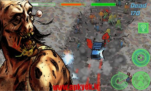 دانلود بازی زامبی رایدر Zombie Rider: Run Smashing Car v1.1.4 اندروید