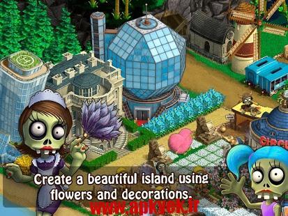 دانلود بازی زامبی های مهاجر Zombie Settlers 1.14 اندروید