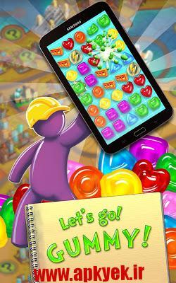 دانلود بازی قطره های چسبنده Gummy Drop! 1.18.4 اندروید