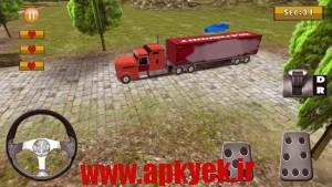 دانلود بازی کامیون ویلر 18 Wheeler Truck Simulator v1.1 اندروید