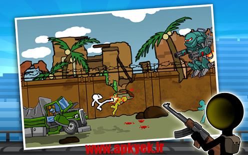 دانلود بازی خشم استک Anger of Stick 2 v1.1.2 اندروید مود شده