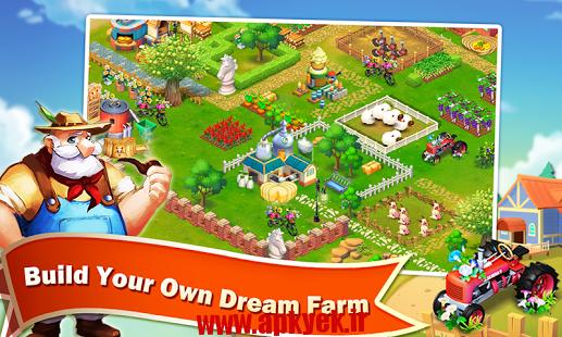 دانلود بازی مزرعه روز Barn Story: Farm Day v1.2.0.0 اندروید