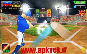 دانلود بازی پادشاه بیس بال Baseball Kings 2015 ! v1.5 اندروید مود شده