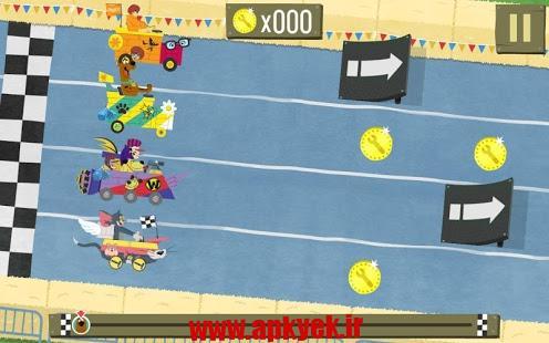 دانلود بازی مسابقه ای ساخت بوم رنگ Boomerang Make and Race v1.0.1 اندروید