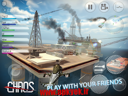 دانلود بازی مبارزه هلیکوپتر CHAOS Combat Helicopter HD #1 v6.2.9 اندروید مود شده